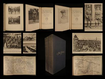 1931 1ed US General Pershing Experiences in World War I