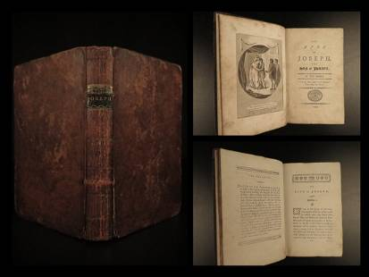1799 Life of JOSEPH Old Testament BIBLE History