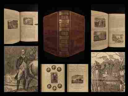1839 Lives of US Presidents by Lincoln Illustrated
