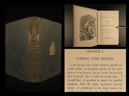 1847 British Navy 1ed Lives of Celebrated Admirals