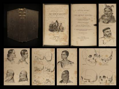 1851 Anthropology 1ed History of Humans Primitive