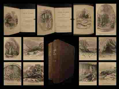 1851 Life of INSECTS Science Entomology Illustrated