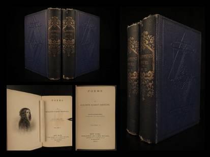 1862 1ed Poems of Elizabeth Barrett Browning English