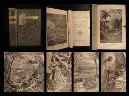 1884 John Milton Paradise Lost Sonnets English & Latin