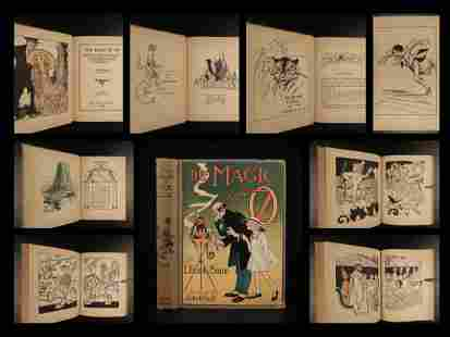 1919 EARLY The Magic of OZ L Frank Baum Wizard of Oz