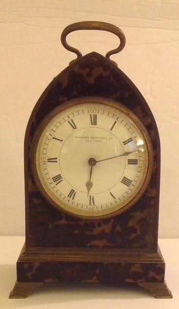 FRENCH CARRIAGE CLOCK, OVINGTON BROTHERS, NEW YORK - 2