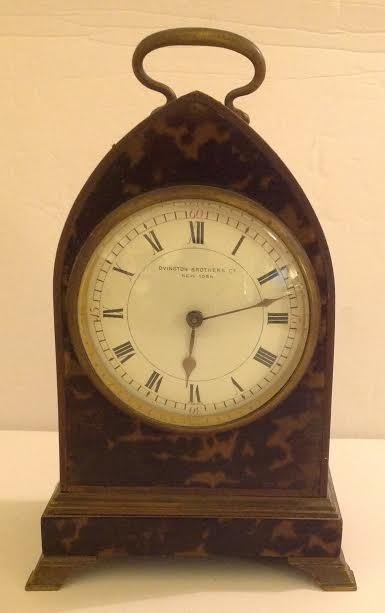 FRENCH CARRIAGE CLOCK, OVINGTON BROTHERS, NEW YORK - 4