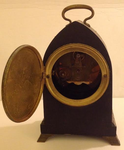 FRENCH CARRIAGE CLOCK, OVINGTON BROTHERS, NEW YORK - 5