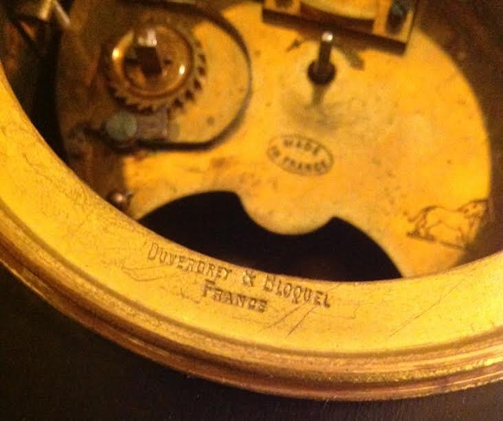 FRENCH CARRIAGE CLOCK, OVINGTON BROTHERS, NEW YORK - 7