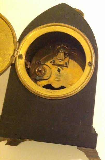 FRENCH CARRIAGE CLOCK, OVINGTON BROTHERS, NEW YORK - 9