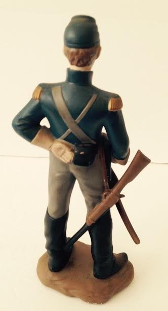 CAVALRY SOLDIER OF THE AMERICAN CIVIL WAR MARKED LT#1 - 4
