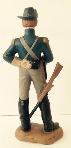 CAVALRY SOLDIER OF THE AMERICAN CIVIL WAR FIGURINE LT2 - 3