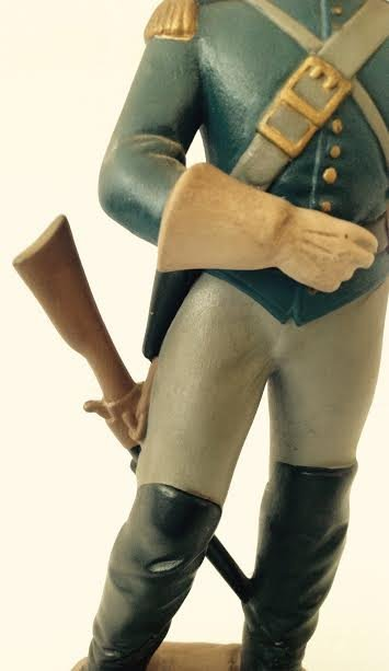 CAVALRY SOLDIER OF THE AMERICAN CIVIL WAR FIGURINE LT2 - 5