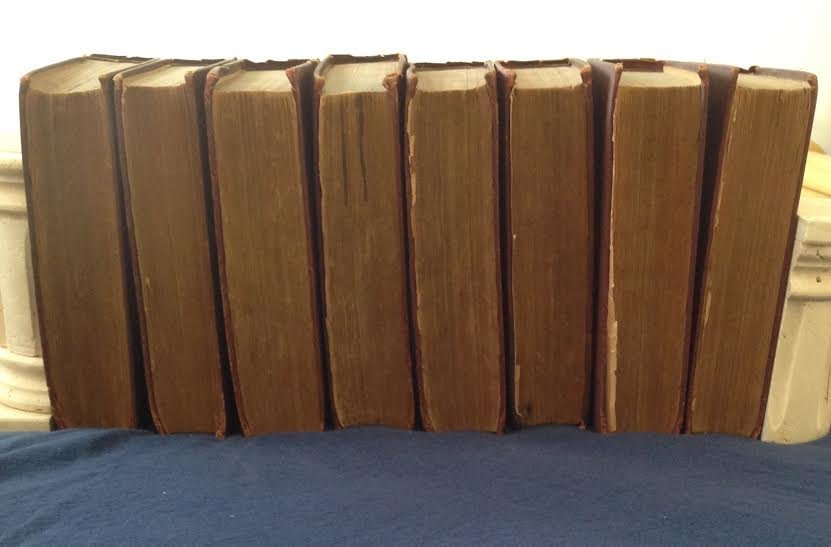 1886 Household Edition CHARLES DICKENS 8 Books - 5