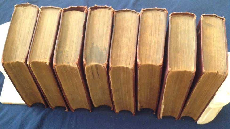 1886 Household Edition CHARLES DICKENS 8 Books - 6