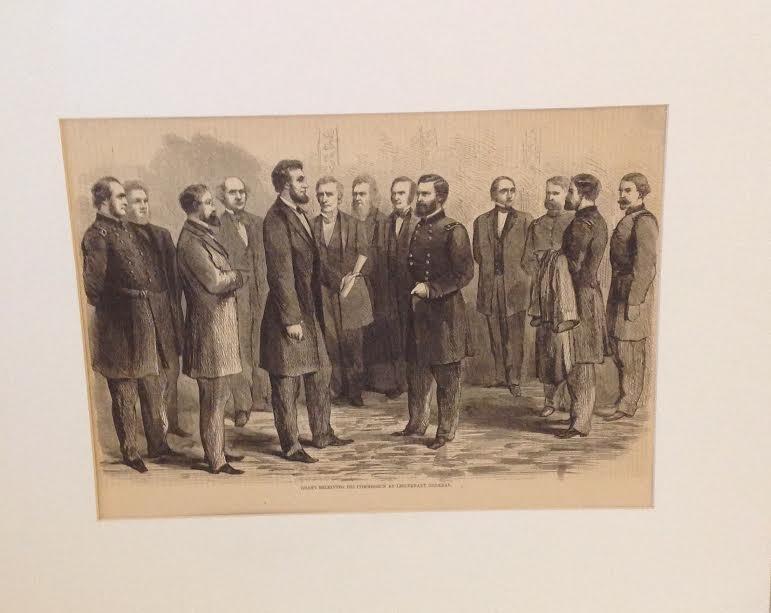 GEN GRANT-HARPERS HISTORY OF GREAT REBELLION 1864 PRINT