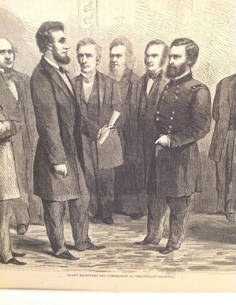 GEN GRANT-HARPERS HISTORY OF GREAT REBELLION 1864 PRINT - 3