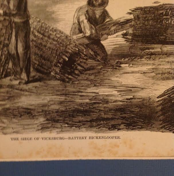 THE WAR ON THE MISSISSIPPI – 1863 PRINT 16 X 11 - 3