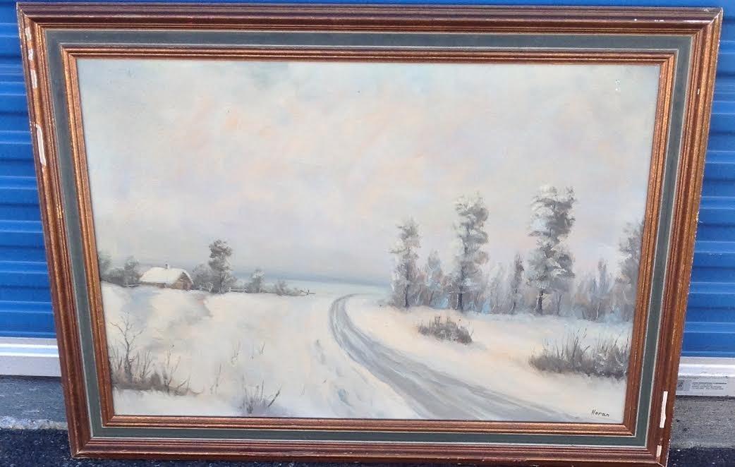 Noran oil painting framed signed 42 x 30 n noran oil painting framed signed 42 x 30 jeuxipadfo Image collections