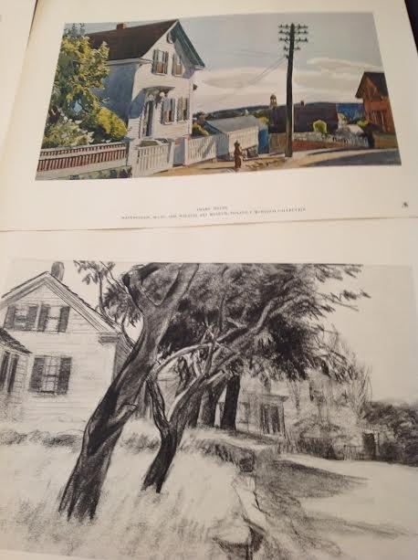 "EDWARD HOPPER (1882-1967) - PRINTS 17"" X 13"" - 6"