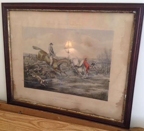 HENRY ALKEN FORE'S HUNTING SKETCHES J HARRIS PLATE 5