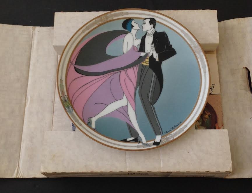 Marci McDonald TANGO DANCERS Plate Signed Numbered