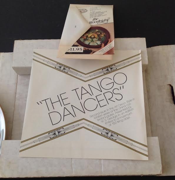 Marci McDonald TANGO DANCERS Plate Signed Numbered - 9