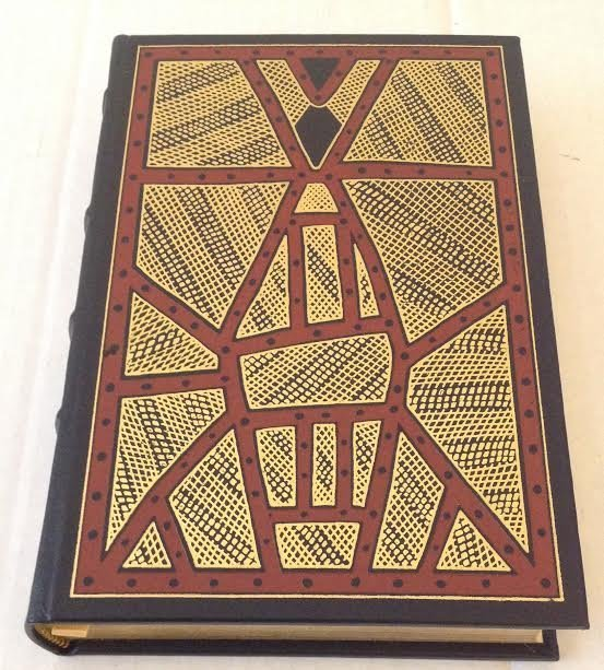 BRUCE CHATWIN -THE SONGLINES1ST EDITION FRANKLIN LIBARY