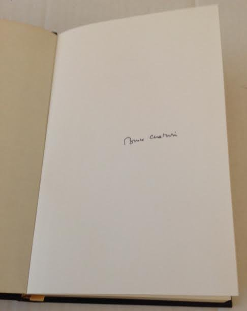 BRUCE CHATWIN -THE SONGLINES1ST EDITION FRANKLIN LIBARY - 2