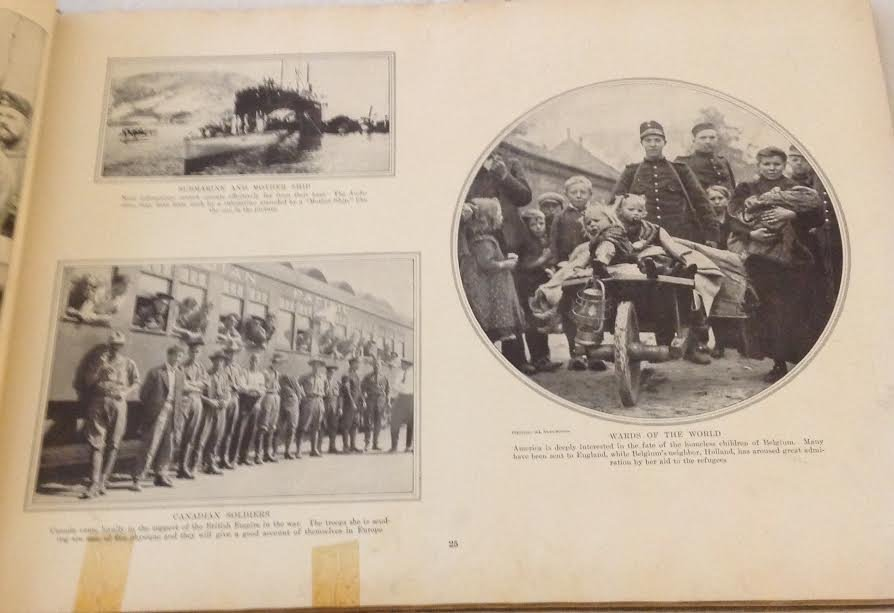 COLLIER'S PHOTOGRAPHIC HISTORY EUROPEAN WAR WW1- 1915 - 8