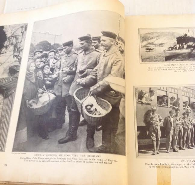 COLLIER'S PHOTOGRAPHIC HISTORY EUROPEAN WAR WW1- 1915 - 9