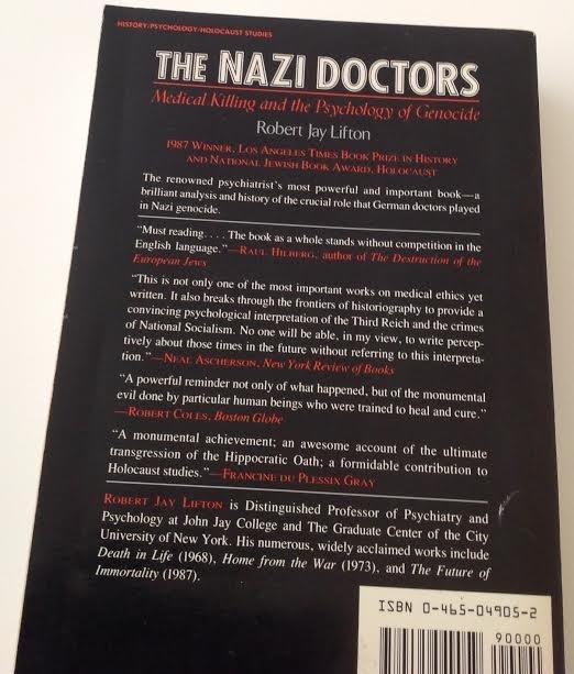 ROBERT JAY LIFTON THE NAZI DOCTORS BOOK 1986 - 3