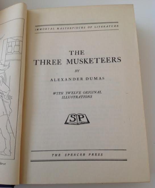 THE 3 MUSKETEERS IMMORTAL MASTER PIECES -DUMAS - 3