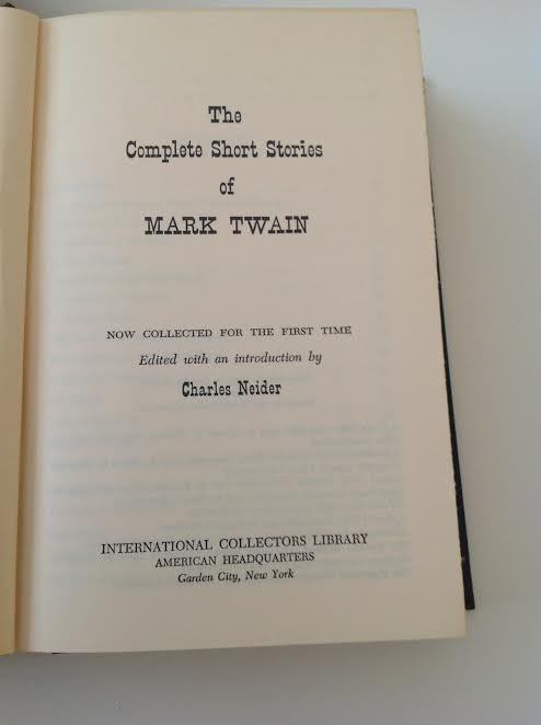 The Complete short Stories of Mark Twain 1957 - 3