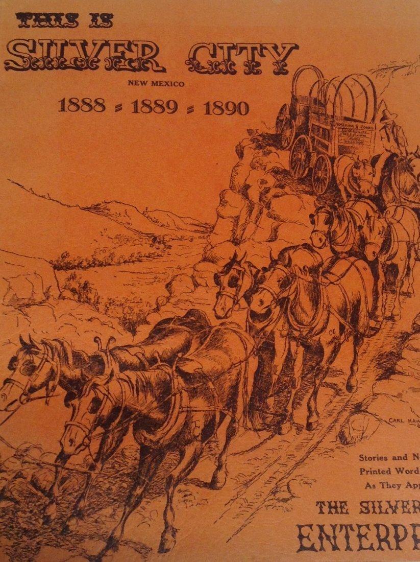 Book :Silver City New Mexico W H Mullane