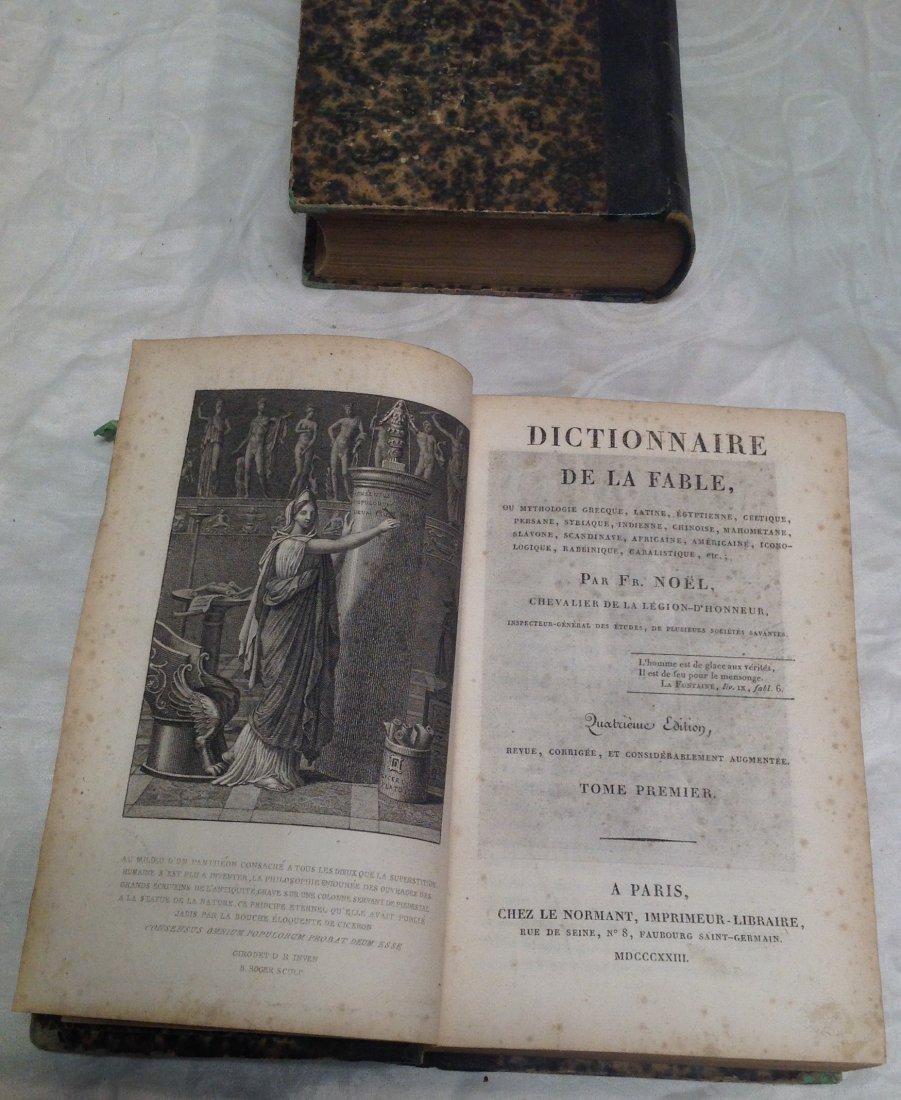F. Noel Dictionnaire De La Fable - 3
