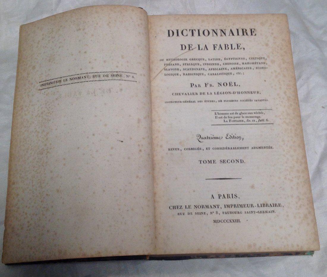 F. Noel Dictionnaire De La Fable - 4