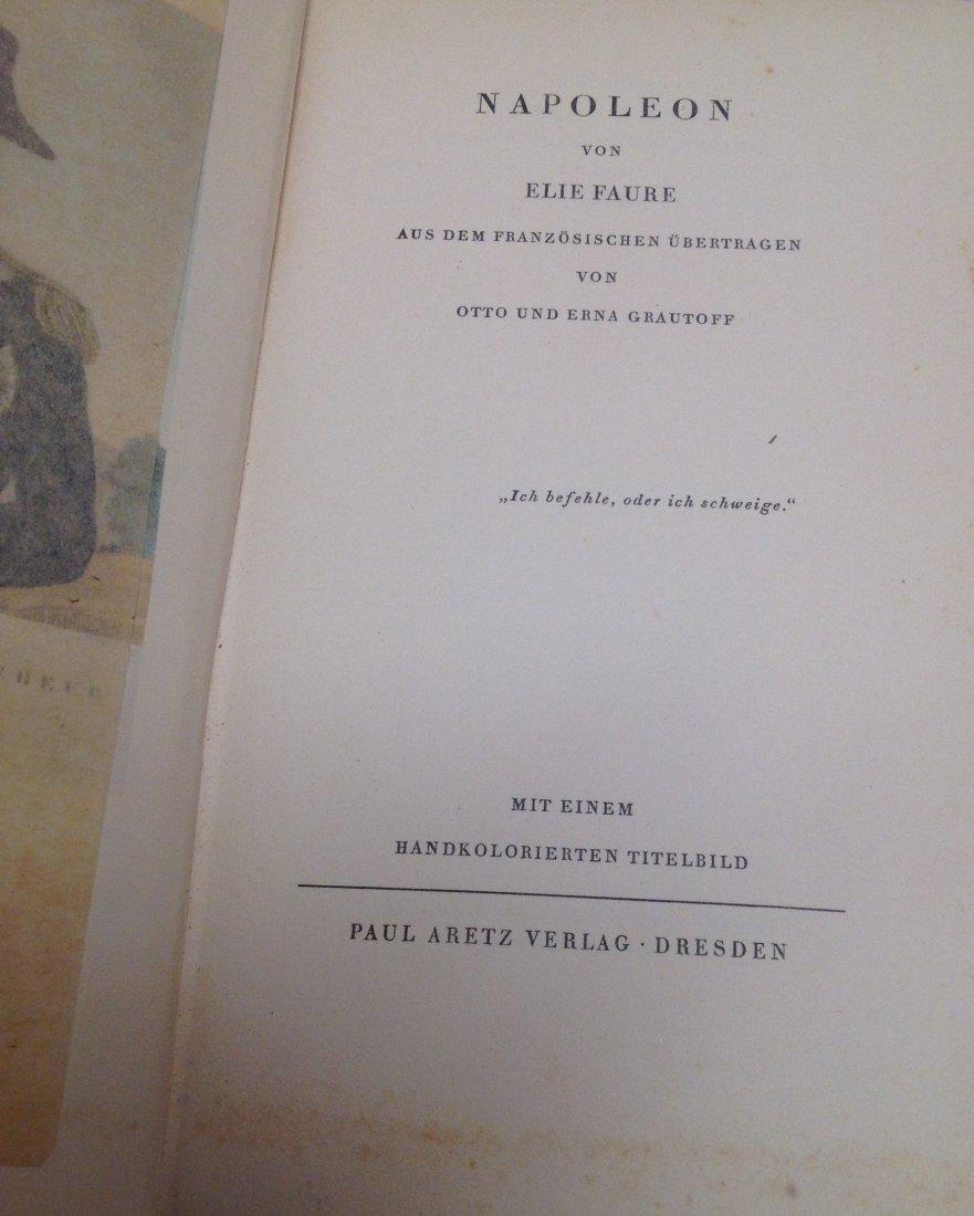 Elie Faure Napoleon. Dresden:Paul Aretz Verlag 1928 - 4