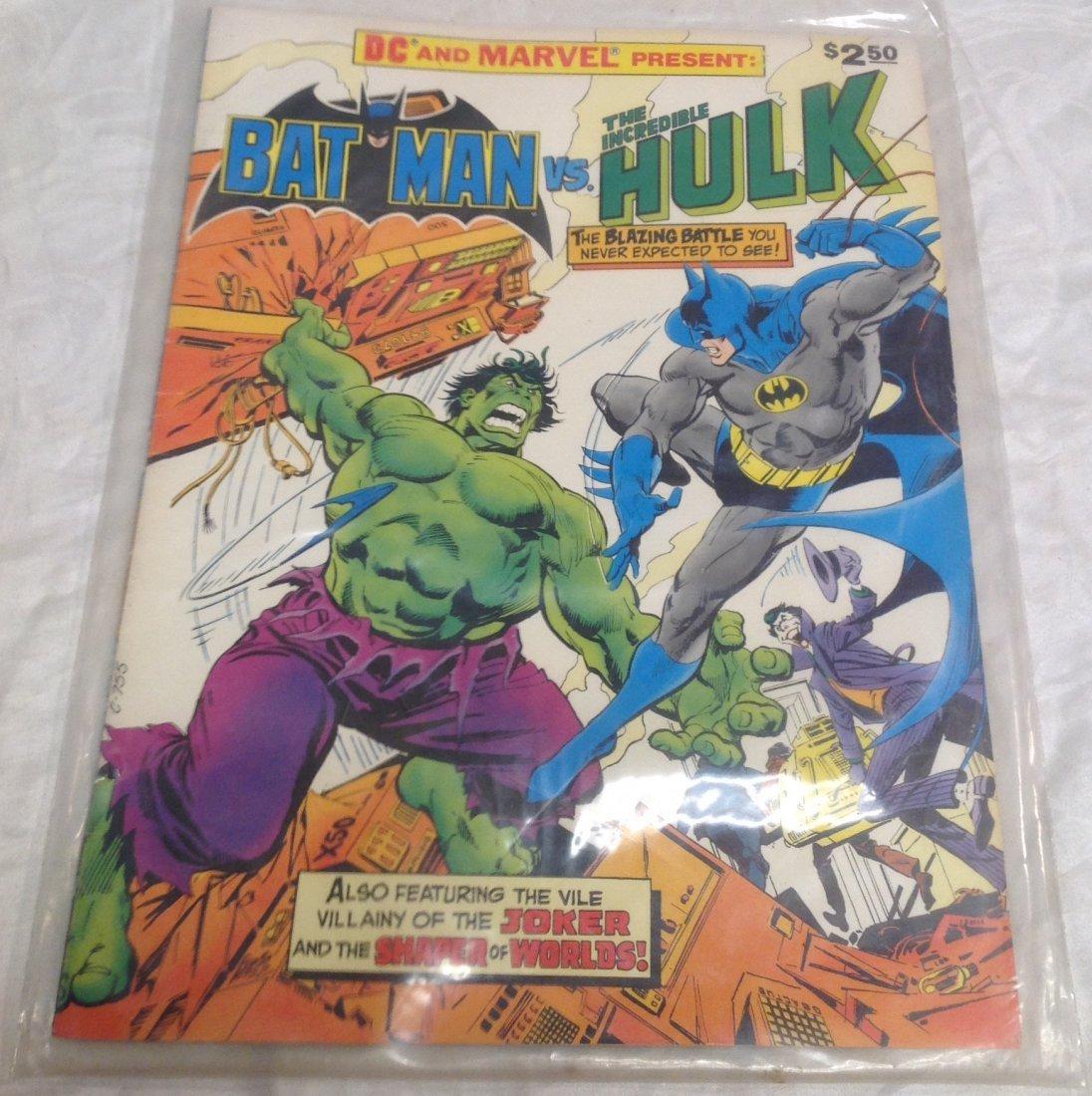 Marvel Comics. Batman Vs The Incredible Hulk