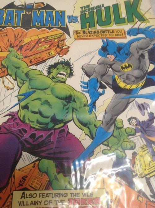 Marvel Comics. Batman Vs The Incredible Hulk - 2