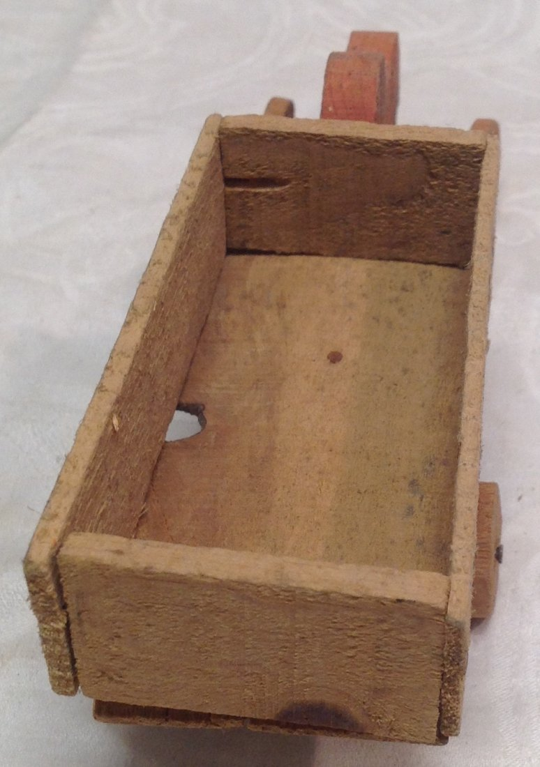 1930's Wood Transporter Toy - 4