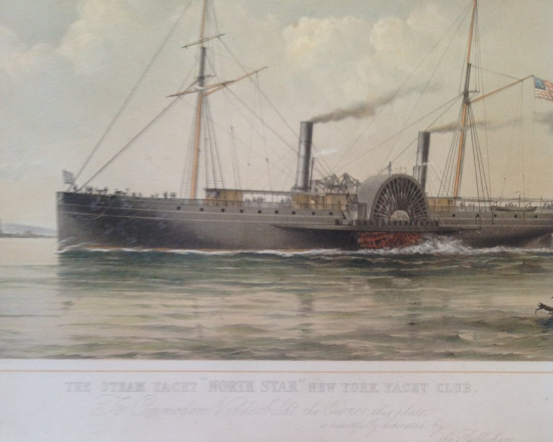 T G Dutton Steam Boat Engraving Illustration - 2