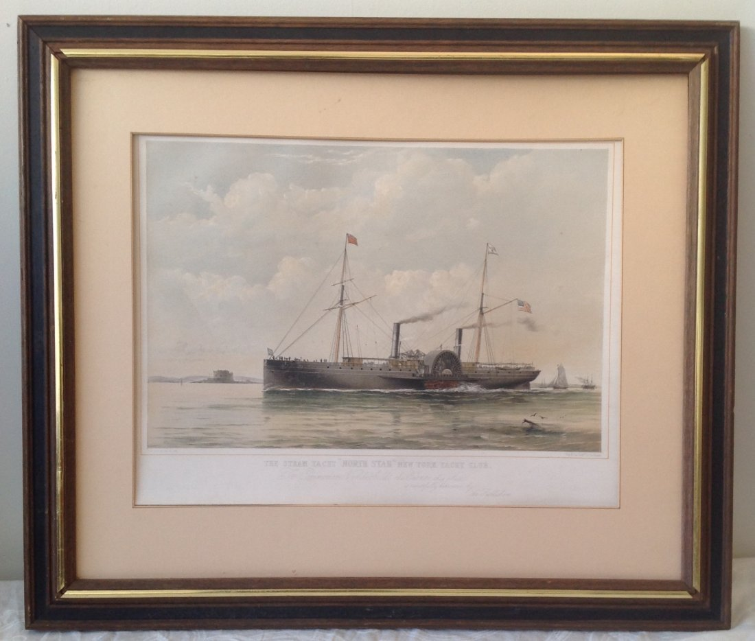 T G Dutton Steam Boat Engraving Illustration - 3
