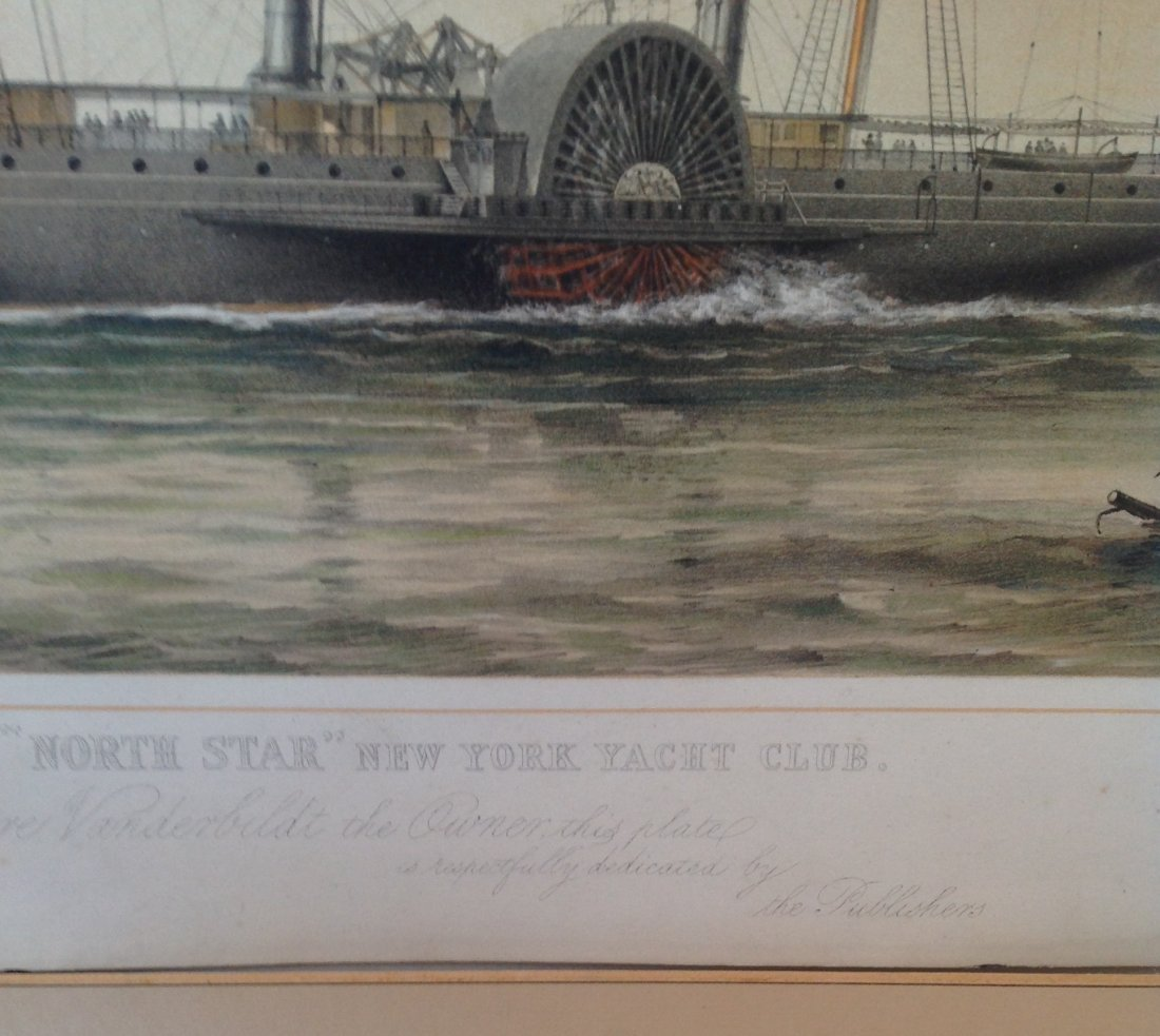 T G Dutton Steam Boat Engraving Illustration - 4