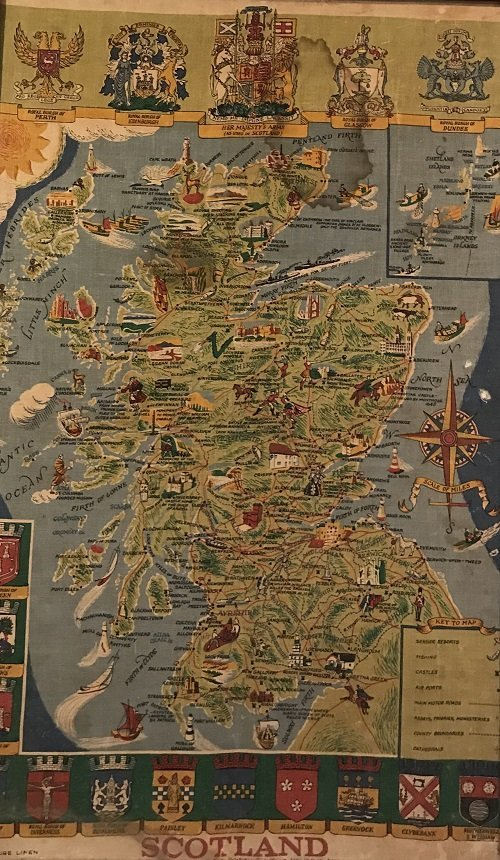 Scotland Pictorial Map - The British & Holiday Asso.