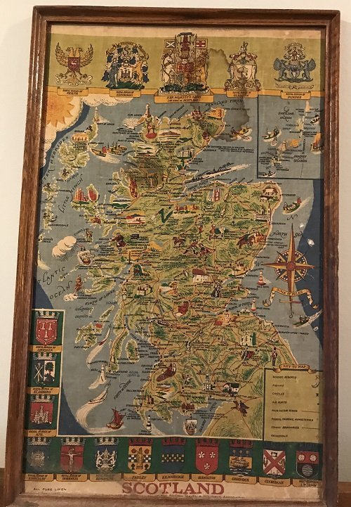 Scotland Pictorial Map - The British & Holiday Asso. - 2