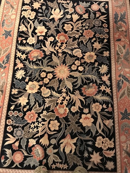 VINTAGE ORIENTAL AREA RUG 72 X 46 (INCHES) 100% WOOL - 2