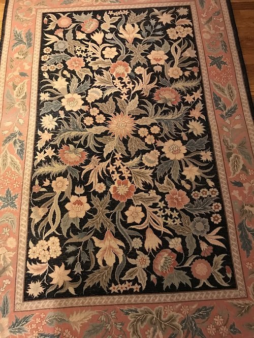 VINTAGE ORIENTAL AREA RUG 72 X 46 (INCHES) 100% WOOL - 6