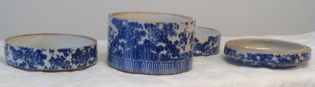 Vintage Chinese Dim Sum Tray/ Lid - 3