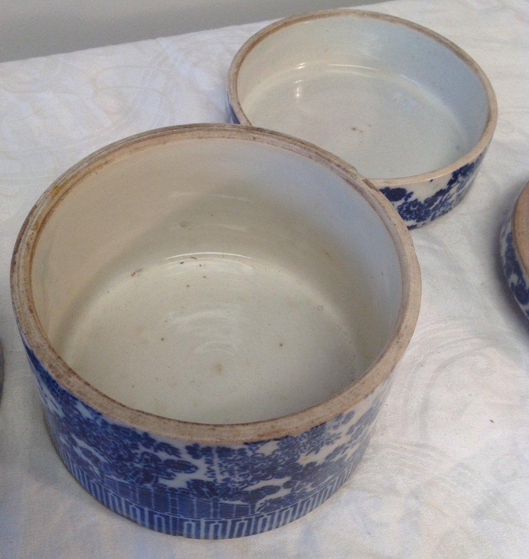 Vintage Chinese Dim Sum Tray/ Lid - 5